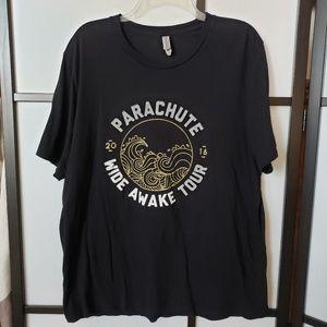 Parachute Wide Awake Tour band tee